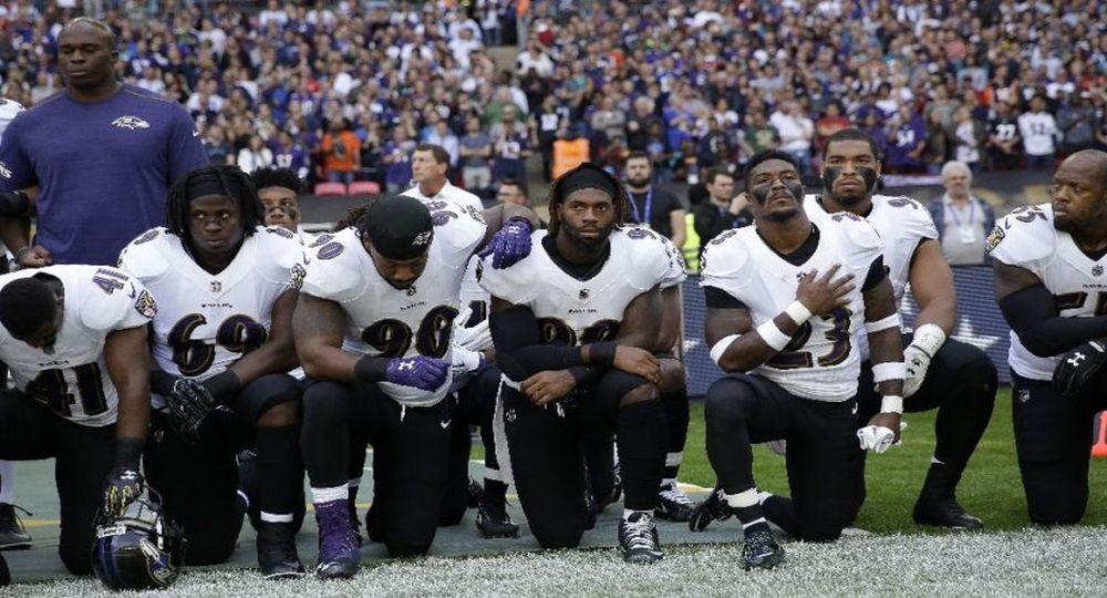 Ravens y Jaguars se unen en protesta y envían mensaje a Trump