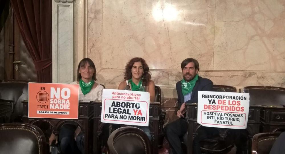 Aborto legal: el pedido