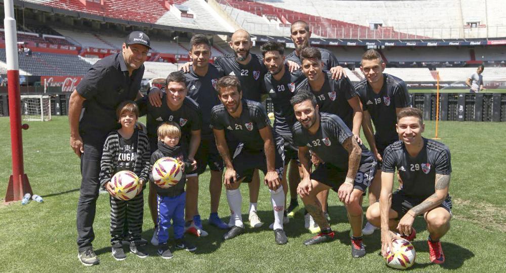 Los hijos de Shakira visitaron el Monumental