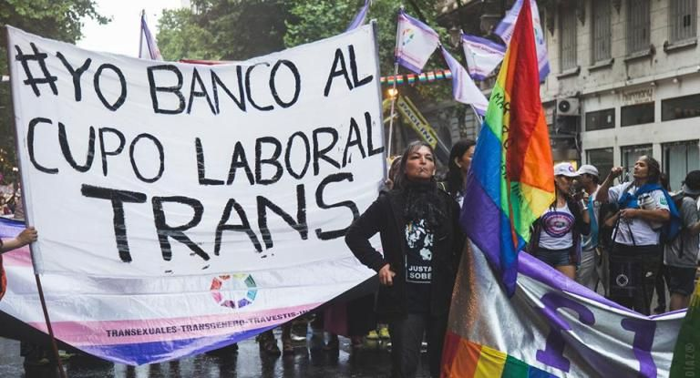 Cupo laboral para travestis y trans: el 98% no tiene trabajo formal