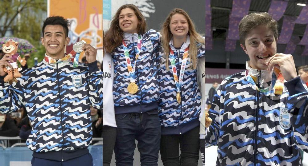En Su Mejor Dia De Los Juegos Argentina Gano Tres Medallas Y Se