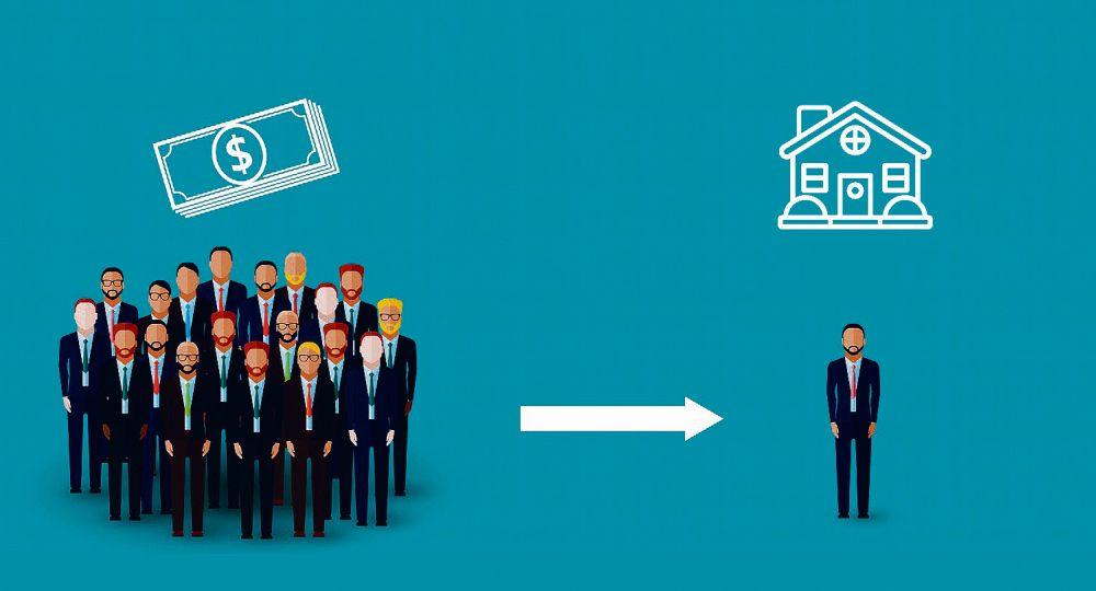 El Crowdfunding es financiamiento colectivo y este concepto puede ser aplicado a diferentes verticales. Una de ellas es el Real Estate.