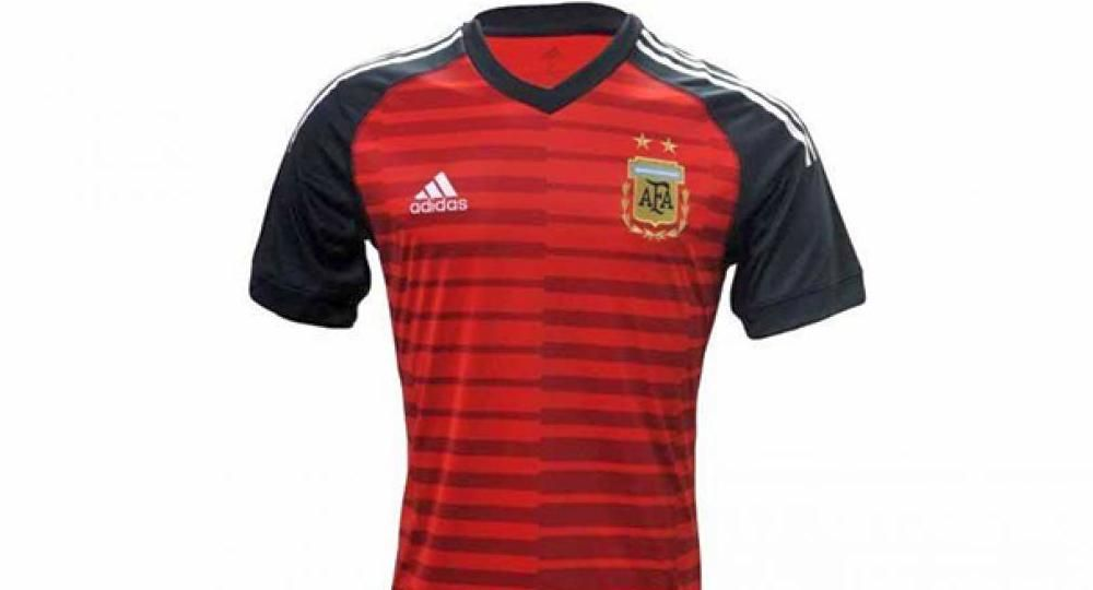 Así será la camiseta que lucirá el arquero de la selección argentina en el  Mundial Rusia 68efd53f2e0c5