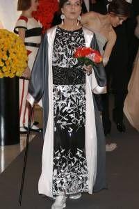 Carolina de monaco con vestidos de fiesta