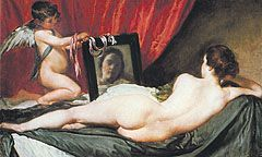 «La Venus del espejo», el único, bellísimo, desnudo probado de Velázquez, que la National Gallery prestó al Museo del Prado.
