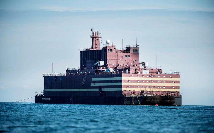 Planta nuclear flotante rusaAkademik Lomonosov.