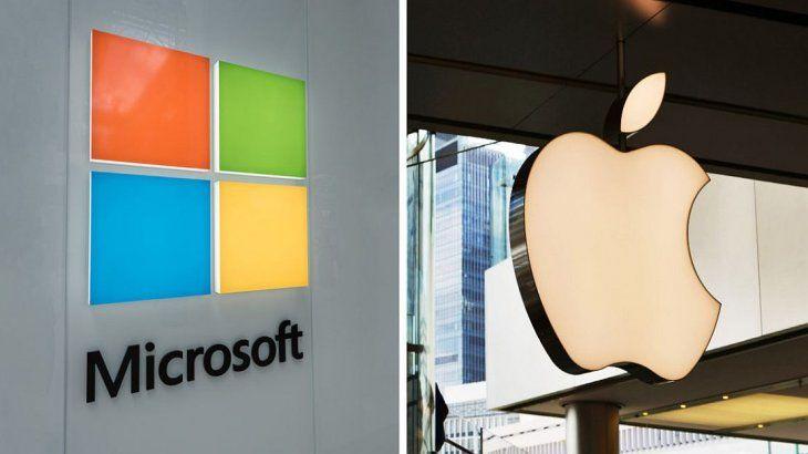 Microsoft lo hizo de nuevo: por primera vez en 8 años, vale más que Apple