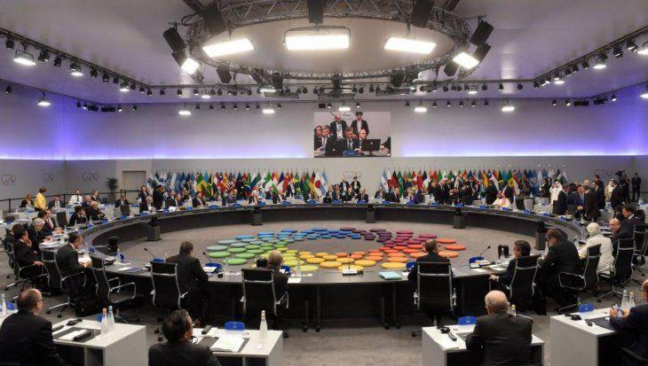 Cumbre del G20 logró declaración final con un pedido de reformar la OMC