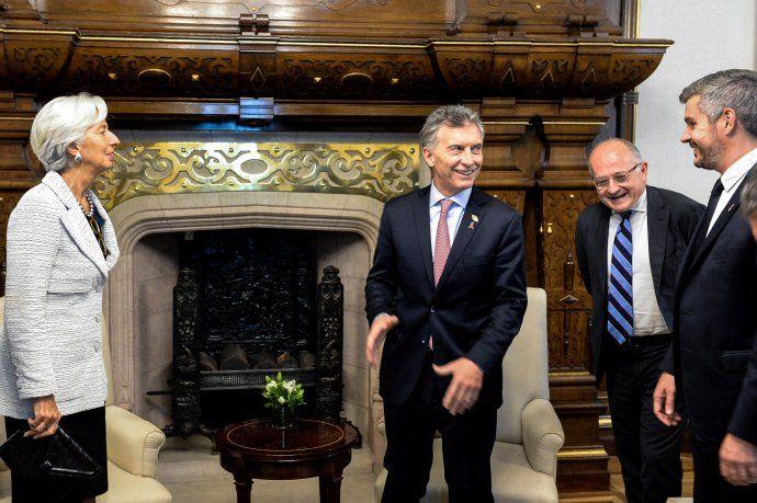Lagarde aseguró que el FMI continuará apoyando a la Argentina