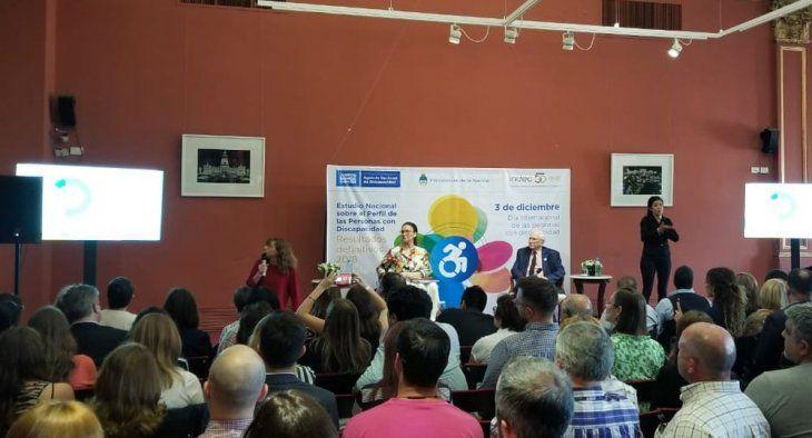 Gabriela Michetti presentó los resultados en el Salón de Pueblos Originarios en Casa Rosada.
