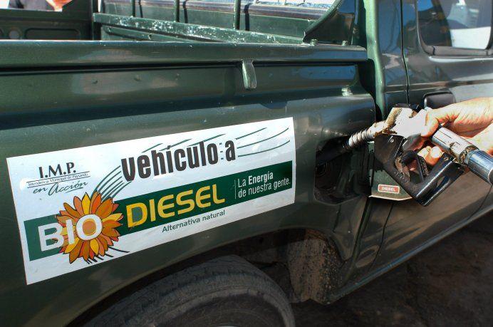Gobierno rebajó 4,55% el precio del biocombustible para mezcla con gasoil