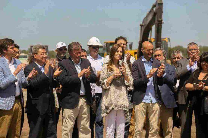 La inauguración de la obra fue encabezada por María Eugenia Vidal y Guillermo Dietrich.