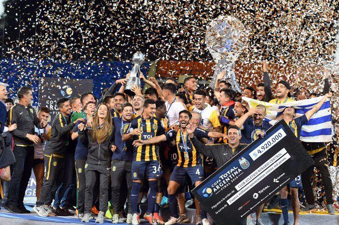Rosario Central se coronó campeón de la Copa Argentina.