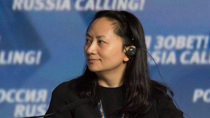 Wanzhou fue detenida a solicitud de Estados Unidos.