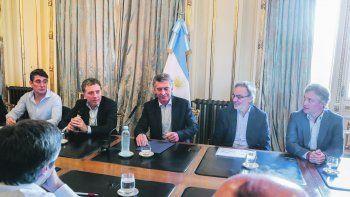 Seguimiento. Macri se reunió con Nicolás Dujovne. También participaron el secretario de Gobierno de Energía, Javier Iguacel, y el asesor presidencial Gustavo Lopetegui.