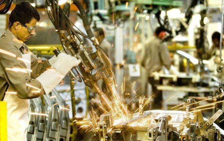 La industria trabajó al 64,8% de su capacidad instalada
