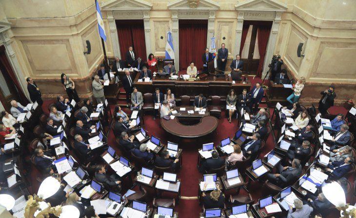 El Senado aprobó una decena de leyes en un trámite exprés