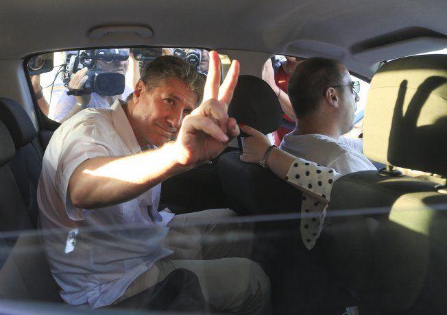 Boudou se presentó en Tribunales tras la orden de volver a prisión