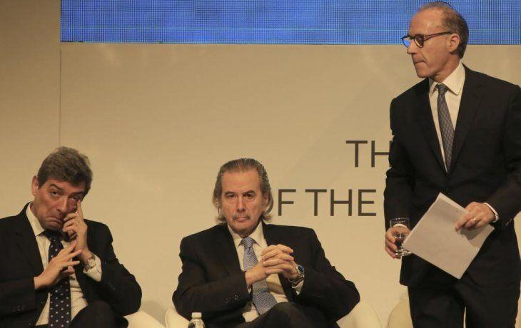 Horacio Rosatti, Juan Carlos Maqueda y Carlos Rosenkrantz.