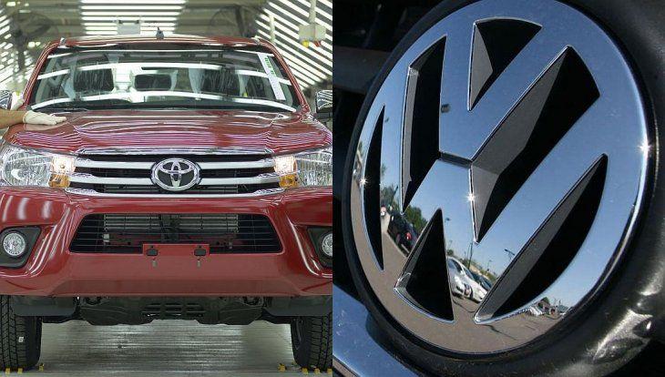 Volkswagen Y Toyota Las Dos Marcas Que Pueden Festejar Pese A Un