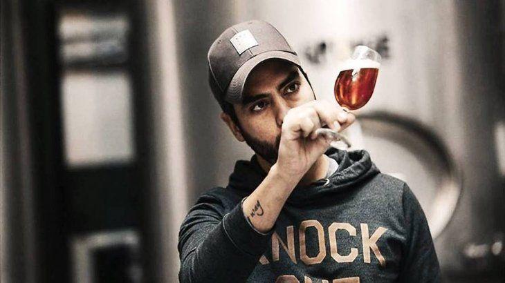Lucas Lico, titular de CCAA y sociofundador de Grunge Brewing Company.