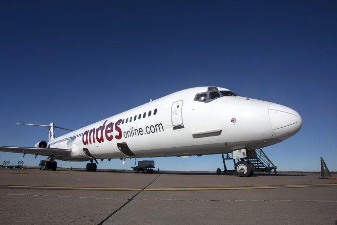 Imagen: Andes Líneas Aéreas.