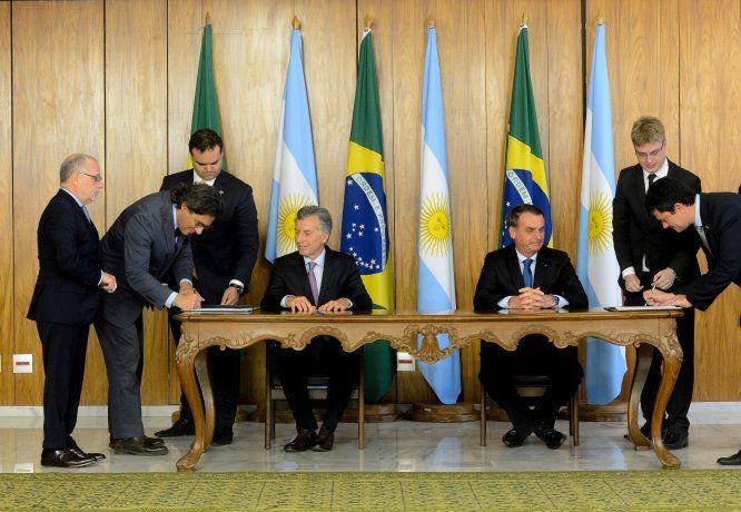 Argentina y Brasil firmaron tratado de extradición judicial