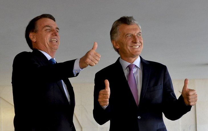 Macri unificó discurso con Bolsonaro sobre el Mercosur y Maduro y recibió fuerte apoyo al rumbo económico