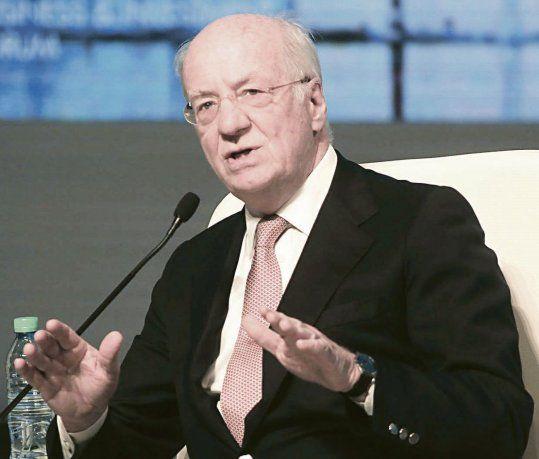 expansión. Paolo Rocca es CEO del Grupo Techint y presidente de Tenaris. La siderúrgica busca ampliar su presencia en el mercado saudí.
