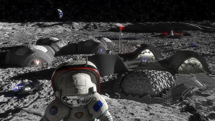 De película: el regolito lunar también podría usarse como material de construcción
