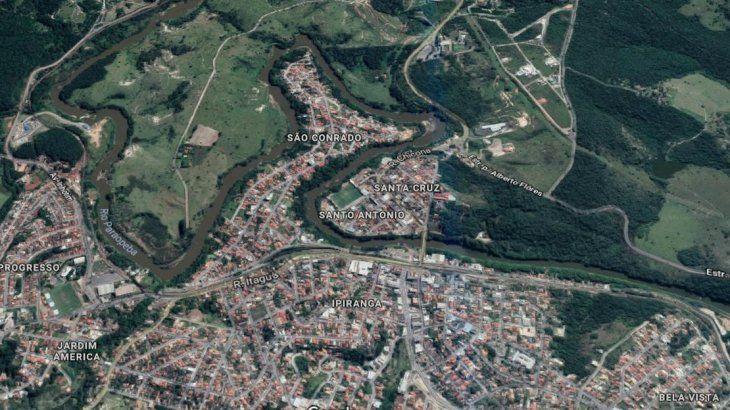 Brumadinho, la zona arrasada por el colapso de una represa