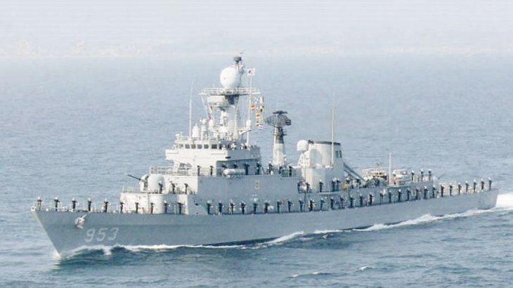 regalo. Corea le donará a la Argentina una Fragata de la clase Ulsan
