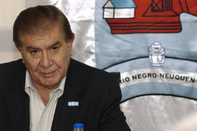 Guillermo Pereyra, senador nacional y líder del sindicato de petroleros y gas privado.