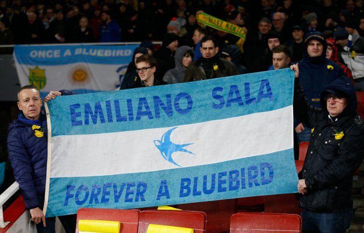 Un homenaje de Cardiff a Sala.