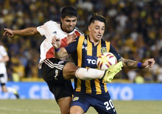 River y Rosario Central igualaron en un partido vibrante