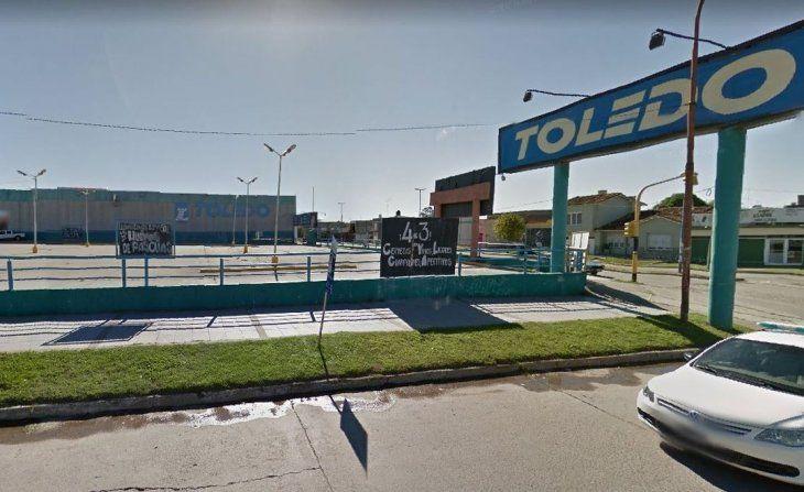 Supermercado Toledo:  No llegamos a junio