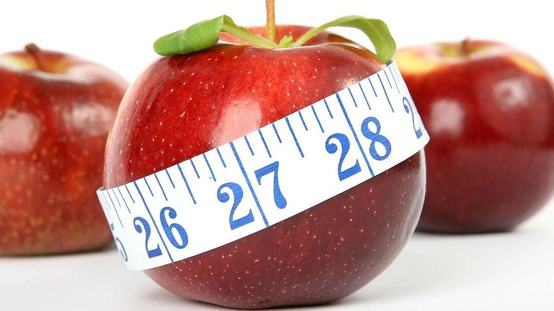 Cambiar los números para bajar de peso
