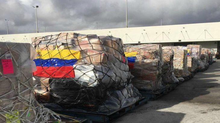 La oposición liderada por Guaidó intentará ingresar ayuda a Venezuela