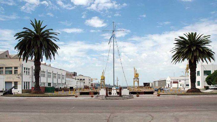 Base naval de Puerto Belgrano.