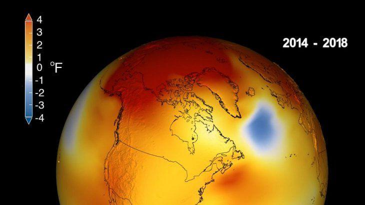 <p>El 2018 fue el cuarto año más cálido.</p>