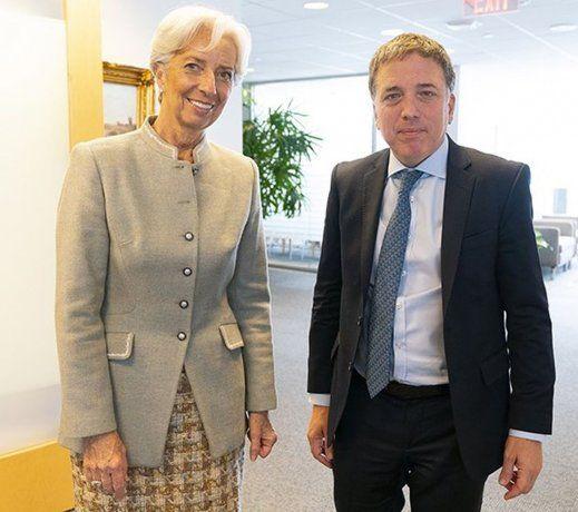 Largarde se reunió con Dujovne y renovó respaldo al programa argentino