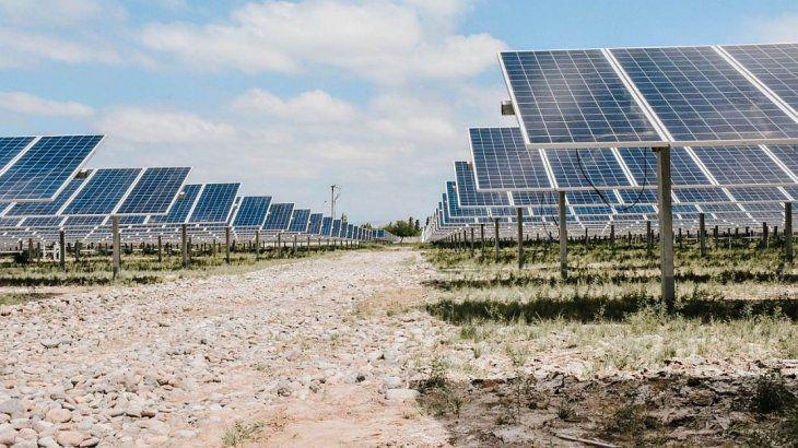 El parque solar Las Lomitas.
