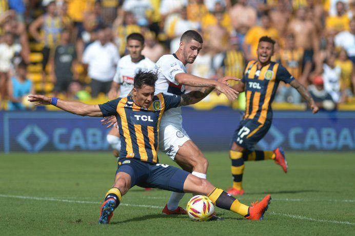 San Lorenzo venció a Rosario Central en la última jugada