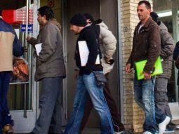 La desocupación creció al 10,6% y ya afecta a 2,5 millones de personas
