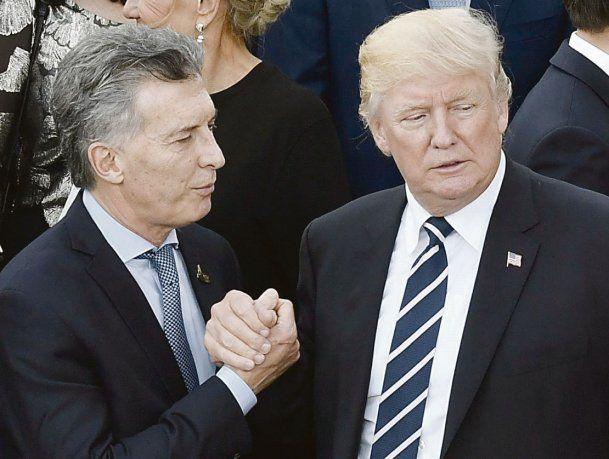 amigos son los amigos. Mauricio Macri y Donald Trump.