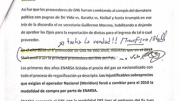 <p>Marcelo D'Alessio entregó al juez Claudio Bonadio y al fiscal Caros Stornelli un informe anónimo de ocho páginas, que también fue clave para luego procesar y dictar prisión preventiva a exfuncionarios del gobierno de Cristina de Kirchner.</p>