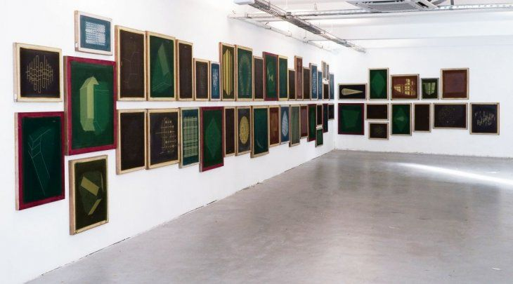 Dorr. Las obras que debían verse en el Museo de Bellas Artes ahora se exhiben en Proa21.