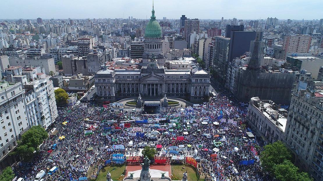 Resultado de imagen para alberto 1 de marzo plaza congreso