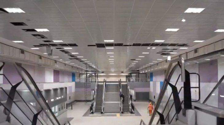 Resultado de imagen para Subtes: se inauguran a finales de mayo tres estaciones de la línea E