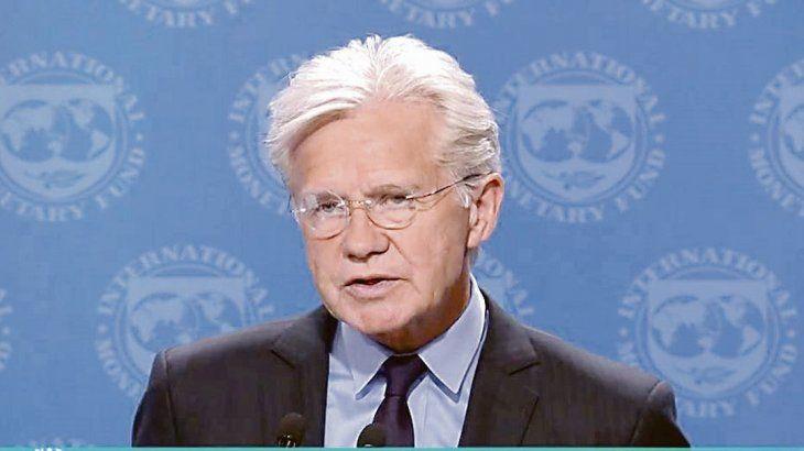 <p>El vocero del FMI Gerry Rice dijo que en numerosos documentos el organismo advirtió sobre los riesgos, tanto internos como externos, que afrontaba el país.</p>